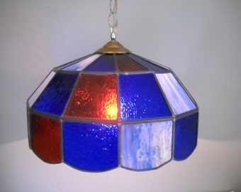 Stained Glass Hanging Light  Ceiling Light