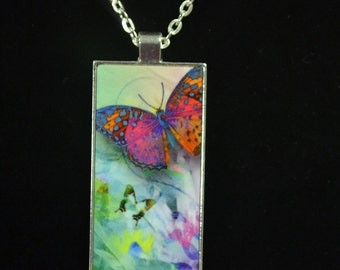Butterfly Necklace, In Memory Jewelry