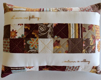 Fall Pillow Cover ~ Autumn Pillow Cover ~ Seasonal Pillow Cover