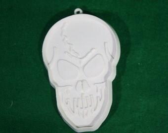 Vintage Cookie Cutter - Hallmark Cards - Scary Halloween Skull Head