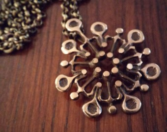 Knut Paulsen Modernist Bronze Necklace - Norway