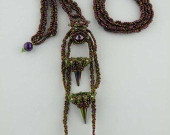 Beading Tutorial - Mina's Necklace