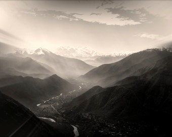 Campaña | The Andes | Chile | Home Decor | Wall Art | Fine Art Photography | Print | Matted
