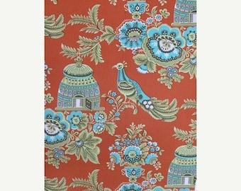 Extra 25% off 1/2 yard Belle by Amy Butler for Rowan Fabrics Royal Garden Clay