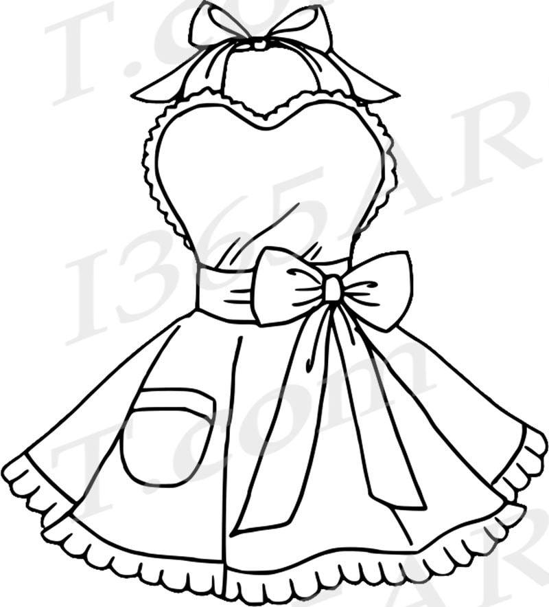 50% OFF Apron Clipart Clip art Cute Aprons Bridal Clipart