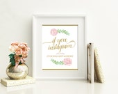 Complete Blush Wedding Signage Pack