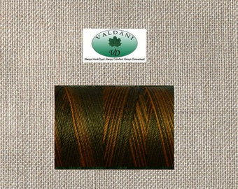 Valdani - US 24 WT - Euro 35 WT - Cotton Quilting Sewing Thread - O532 Orange Charcoal - 540 Yards - By The Spool