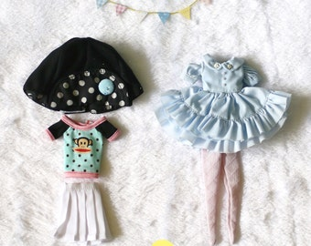 Special Set.// Doll clothes for Neo Blythe, Pullip , Dal , Licca.