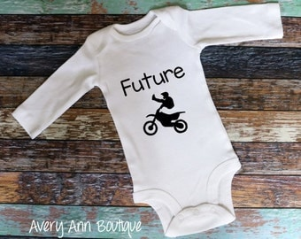 Future Motorcross Future Dirt Bike Dirt Bike Baby Motorcross Motorcycle Outfit Newborn Outfit Baby Outfit Baby Bodysuit Toddler Outfit