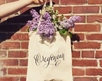 Oregonian Tote Bag