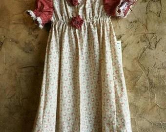 Amanda Girls' OOAK Dress