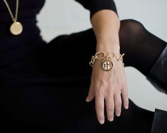 Monogrammed Henson Bracelet