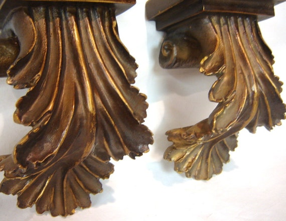 Corbel Shelf Set Shabby Chic Wall Sconce Shelf Decorative