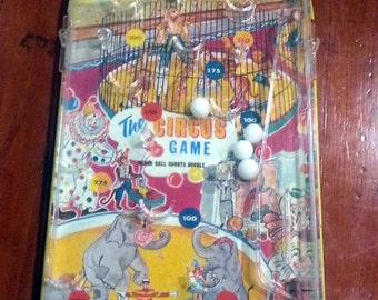 Vintage Wolverine Circus Table Top Pinball
