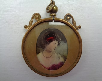 Victorian Two-Sided Locket