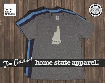 New Hampshire Home. shirt- Men's/Unisex