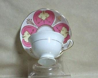 Royal Albert Art Deco Tea Cup and Saucer