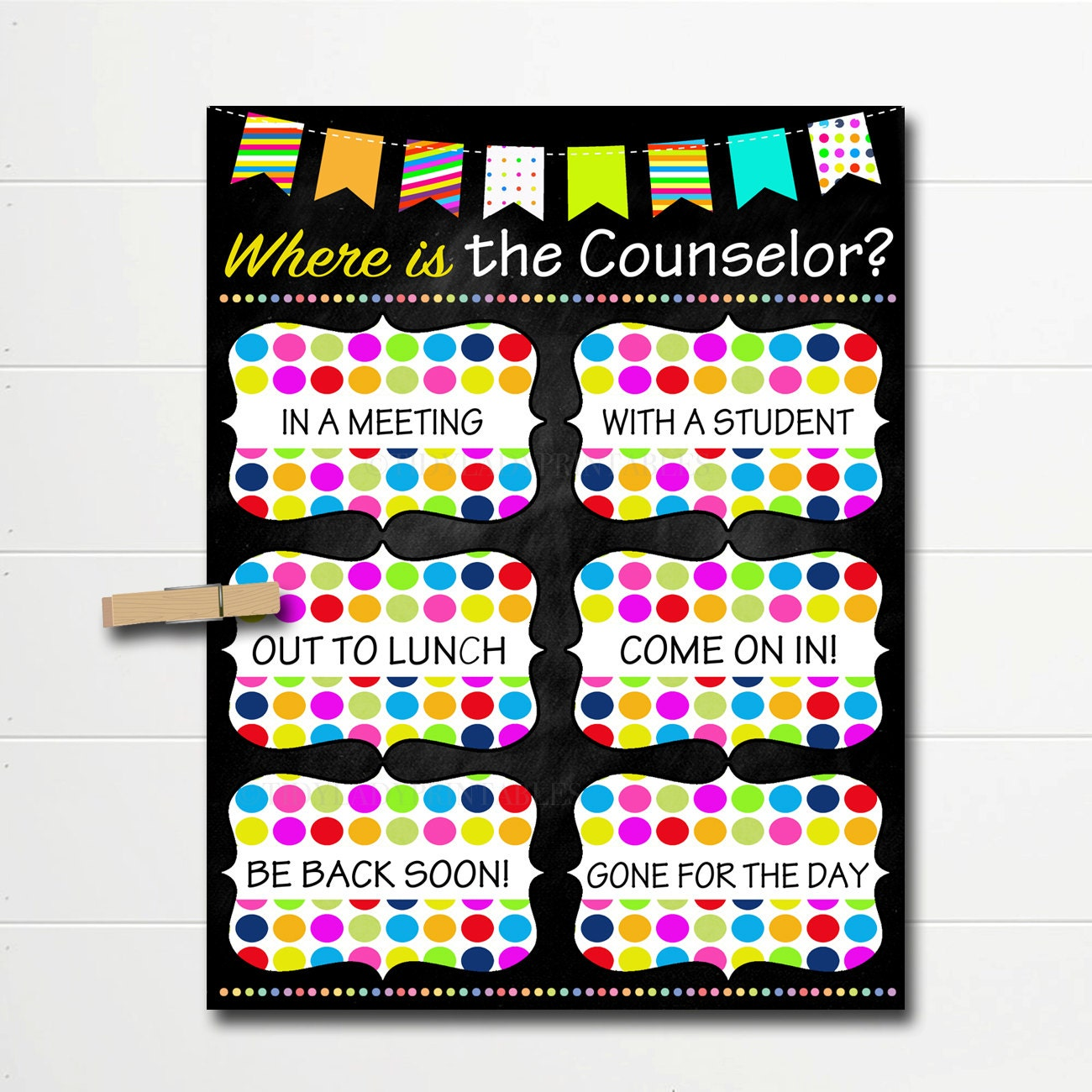 Counseling Office Decor Counselor Poster Etsy