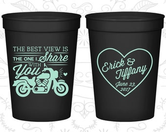 Custom Cups, Personalized Cups, Wedding Cups, Personalized Plastic Cups, Stadium Cups, Party Cups, Plastic Cups (457)