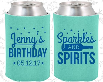 Star Birthday, Custom Party Gifts, Wine Birthday, Sparkles and Spirit, Party Favors (20083)