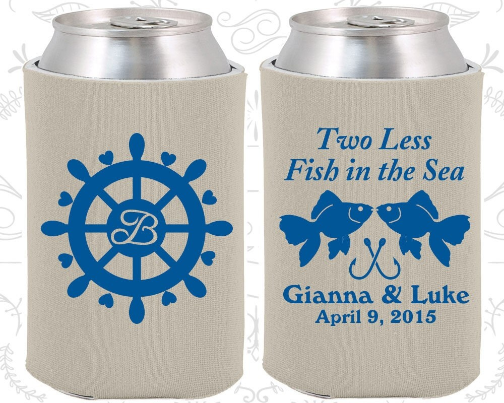 Two less fish in the sea wedding reception nautical wedding for Two less fish in the sea
