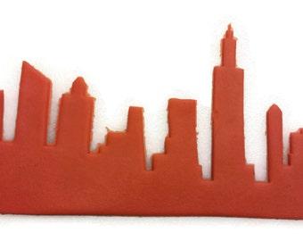New York City Skyline Fondant Cutter