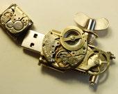Steampunk USB 16 Gb Flash Drive