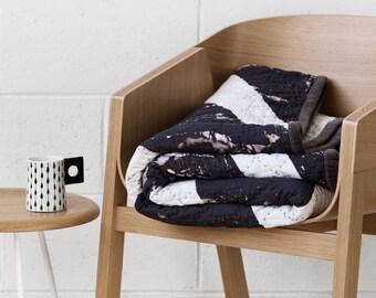 Strike Quilt - Digitally Printed Velvet Quilt