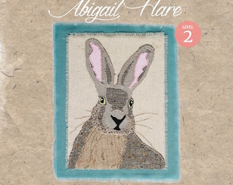 Workshop in a Bag Abigail Hare, Hand Embroidery Textile Art Kit, Level 2