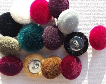 Custom Covered Buttons- MANY COLORS