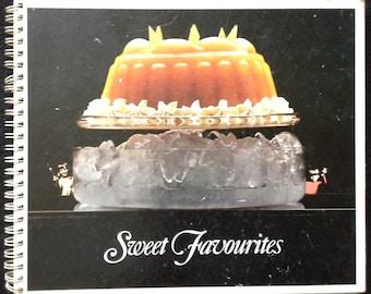 Sweet favourits dessert cook book 1970s