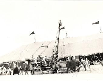 Vtg Circus Photo ~ Ringling Brothers Barnum Bailey Circus