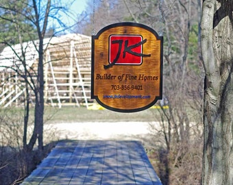 Custom Carved Dimensional Cedar signs for Business or Home