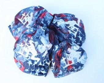 OS  Pocket diaper-cloth diaper-diaper cover, cloth diaper- memorial, patriotic