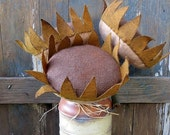 Cyber Monday 25% OFF Primitive Sunflowers-Fabric Sunflowers-Rustic Sunflowers-Rustic Country Decor-Thanksgiving Decoration-Homemade Fall Dec