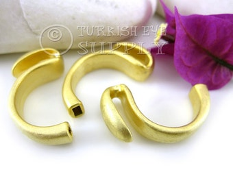 3 Pc Toggle Clasps, 22K Gold Plated Hook Clasps Findings, Bracelet Clasp, Turkish Jewelry Supplies