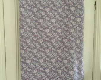 Sale* Vintage King Size Duvet  - Cream wiith Purple Flowers