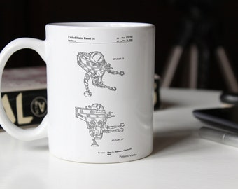 Space Walking Toy Patent Mug, Vintage Toys, Retro Toys, Outer Space, Space Mug, PP1107