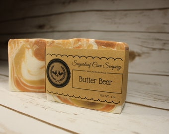 Butter Beer Handcrafted Soap