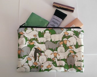 Wolf in Sheeps Clothing Pouch