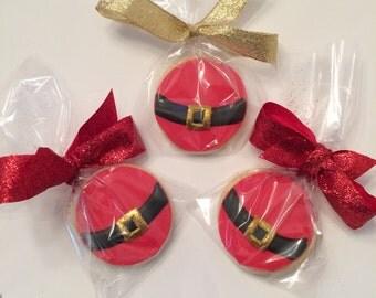 Santa Belly Cookies