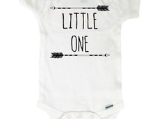 Baby Onesie - Arrows Little One - Bodysuit Baby Shower Gift - Arrows Onesie Boho Hipster Bohemian Arrow 4207