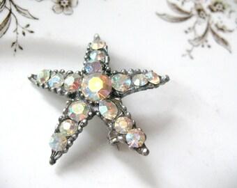 SALE Vintage AJC Starfish Pin