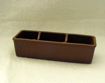 Hall Sugar Packet Holder in Brown