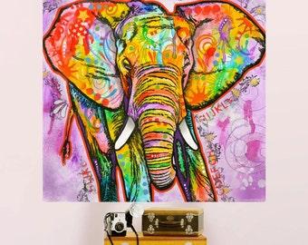 Elephant Pop Art Etsy