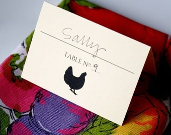 Meal Option Place Cards | Digital Download
