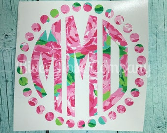 Unique Lilly Pulitzer Vinyl Related Items Etsy