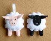Sheep Feltie pdf Sewing Pattern
