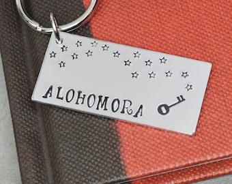 Alohomora Keychain