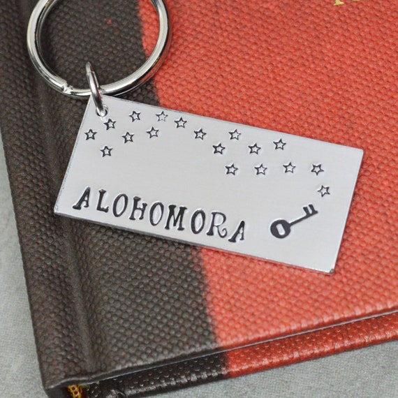 Alohomora Keychain | Harry Potter Gift Guide